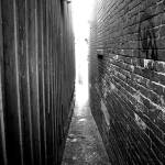 """Alleyway B&W"" by accidental"
