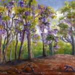 """Louisiana Art; Wisteria Takes Over"" by Lenora"