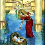 """""""Bible Stories: Moses in a Basket"""" by SherryHolderHunt"""