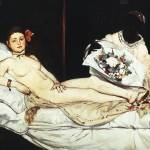 """Édouard Manet, Olympia"" by birthdaygifts"