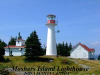 Iighthouse on Moshers Island