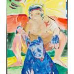"""The Blue Dog"" by redjordanart"