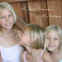 My Best Friends.... My Sisters Art Prints & Posters by Rachel Ladd