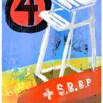 """Lifeguard Stand 4 - Ship Bottom Beach Patrol"" by Cardona"