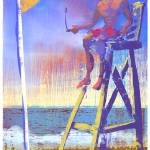 """Lifeguard Station 5 - Harvey Cedars Beach Patrol"" by Cardona"
