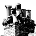 """Collapsed Chimney"" by davidanderson"