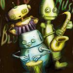 """The Robot Band"" by Dorsner"