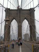 Brooklyn Bridge Towards New York