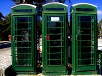 Telephone Boxes in the Troodos Mountains
