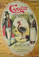 Cinco London Cigar Tin Box