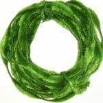 """Abstract Vibrant Green Christmas Wreath"" by atomicbuzz"