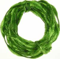 Abstract Vibrant Green Christmas Wreath