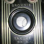 """Brownie Target Six-16 Vintage Canadian Kodak Camer"" by atomicbuzz"