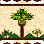 """palm quilt"" by JanetStearns"