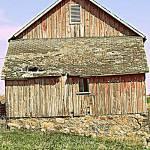 """""""Barn on Delaware in Iowa"""" by LauraMillen"""