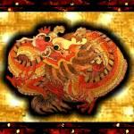 """""""dragon scene"""" by JanetStearns"""