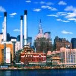 """New York Mid Manhattan - Digital Art Painting"" by Art-America"