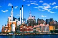 New York Mid Manhattan - Digital Art Painting