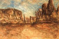Utah Red Rocks - Landscape Art Painting