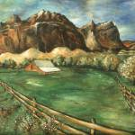 """Capitol Reef Utah - Landscape Oil Painting"" by Art-America"