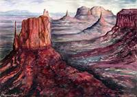 Monument Valley Arizona - Fine Art Painting