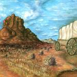 """Sedona Arizona - Western Art Painting"" by Art-America"