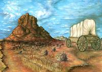Sedona Arizona - Western Art Painting