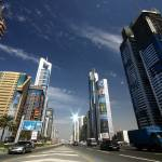 """Sheikh Zayed Road"" by fon"
