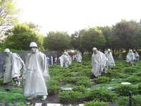 Korean War Memorial Soldiers