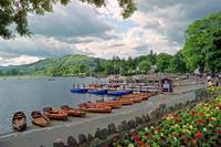 Harbourscene, Ambleside, Lake Windermere