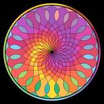 """Wheel Mandala"" by rontocknell"