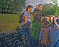 Viet Nam Memorial Visitors