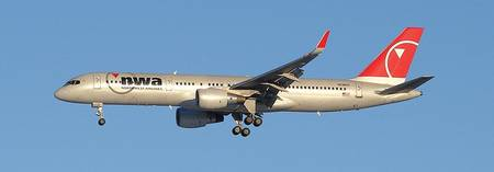 Northwest Airlines 757