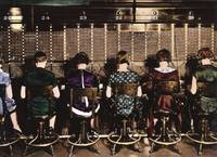 Operators at the Switchboard c1920 by WorldWide Archive