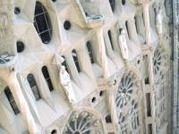 Facade of Sagrada Familia