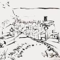 Vernazza Sketch