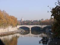 Tiber River in Fall