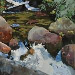 """Mountain  Stream"" by RobertBissett"