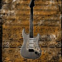 guitar Art Prints & Posters by Todd Rinker