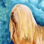 """Lhasa Apso Dog Up Close and Personal"" by KathleenSepulveda"