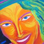 """Santa Fe Sun (detail 1)"" by sondrasula"