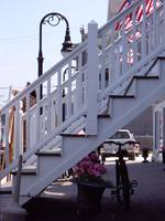 Block Island staircase