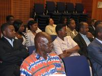 African Participants at the first Diaspora Meeting