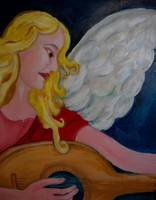 angel, playing for my god