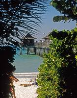Naples Pier in Naples, Florida