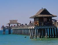Naples Pier Close-up