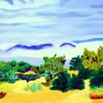 """""""Misty Mountain"""" by marysfineart"""