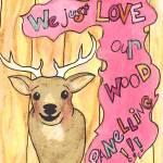 """""""deer-head"""" by lisawillis"""