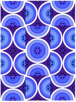 Circles Blue Purple