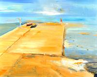 ADRIATIC Oil on Canvass 20x16in